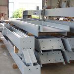 versandfertige Stahlkonstruktionen
